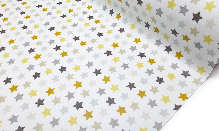 Galaxy Stars Yellow - Matt