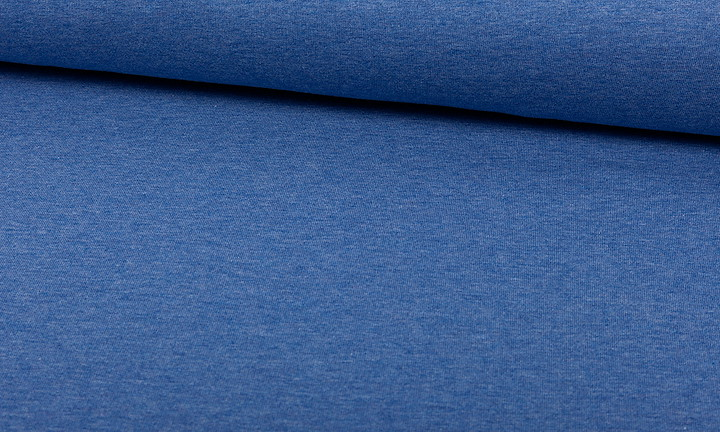 Sweat Melange Blau