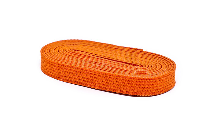 Gummiband Uni 10 mm Orange