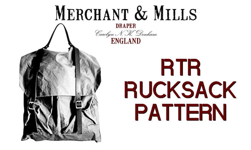 KUNT & BUNT - Merchant & Mills Schnittmuster RTR Rucksack