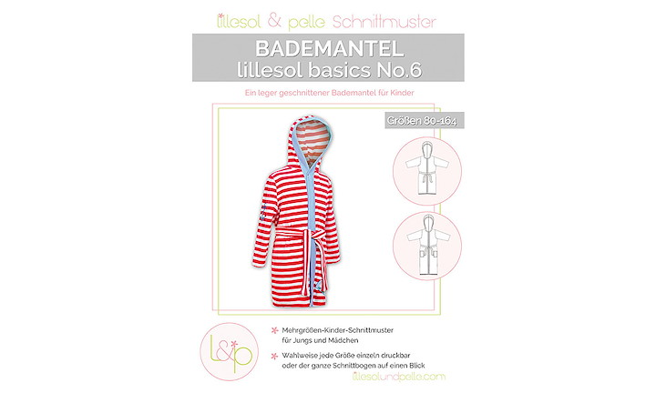 lillesol & pelle No. 6 - Bademantel Basic