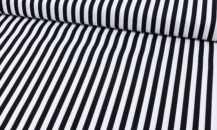 MMCST-0001 Michael Miller Clown Stripes Black MMCST-0001.jpg