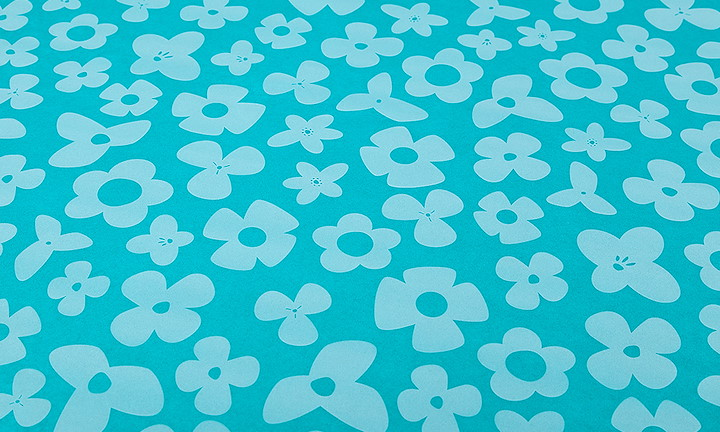 Seidenpapier Retroflower Mint