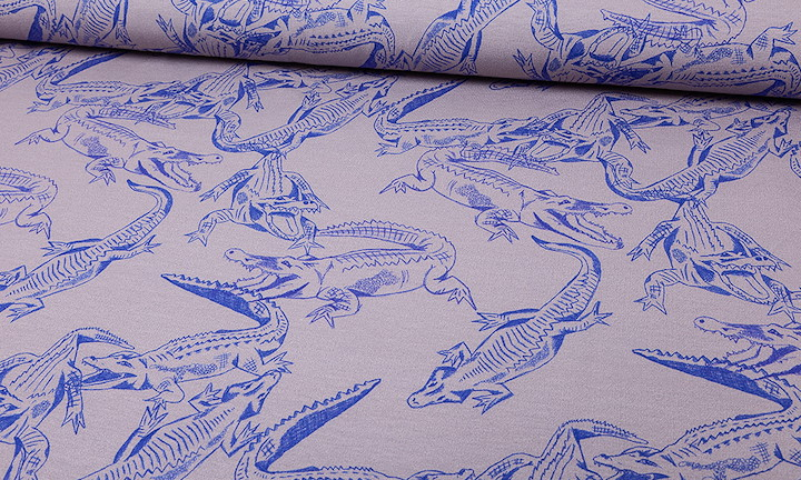 Jersey - Crocodiles Blue